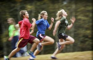 adolescents, running